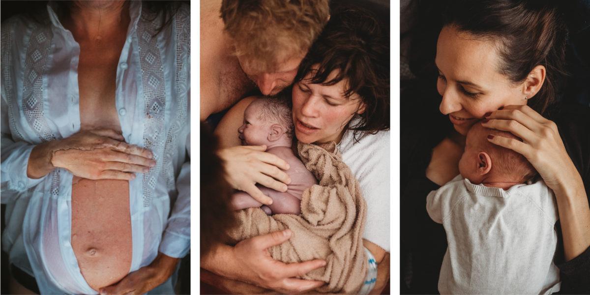 Drei Fotografien, die von Isabell Steinert angefertigt wurden