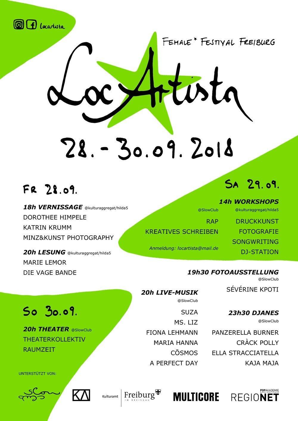 Poster von LocArtista 2018