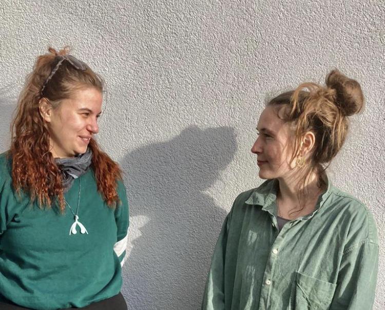 Bild der zwei Macherinnen von female.diversity